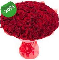Özel mi Özel buket 101 adet kırmızı gül  Düzce çiçek yolla