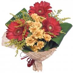 karışık mevsim buketi  Düzce hediye sevgilime hediye çiçek