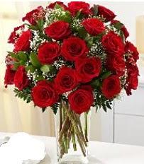 Vazo içerisinde 33 adet kırmızı gül  Düzce online çiçekçi , çiçek siparişi