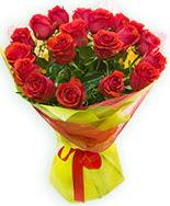 19 Adet kırmızı gül buketi  Düzce güvenli kaliteli hızlı çiçek
