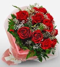 12 adet kırmızı güllerden kaliteli gül  Düzce güvenli kaliteli hızlı çiçek