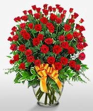 Görsel vazo içerisinde 101 adet gül  Düzce online çiçekçi , çiçek siparişi