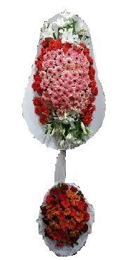 çift katlı düğün açılış sepeti  Düzce çiçek servisi , çiçekçi adresleri
