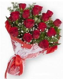 11 kırmızı gülden buket  Düzce hediye çiçek yolla