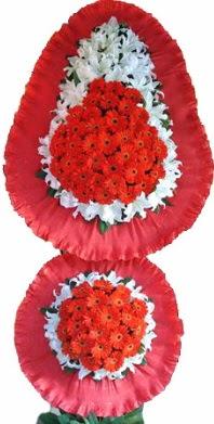 Düzce yurtiçi ve yurtdışı çiçek siparişi  Çift katlı kaliteli düğün açılış sepeti