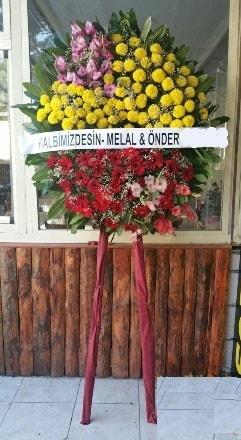 Düzce çiçek yolla  Cenaze çiçek modeli
