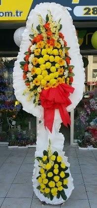 Çift katlı düğün nikah açılış çiçeği  Düzce hediye çiçek yolla