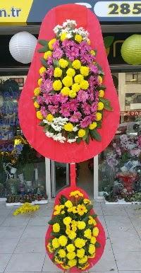 Çift katlı düğün nikah açılış çiçek modeli  Düzce yurtiçi ve yurtdışı çiçek siparişi