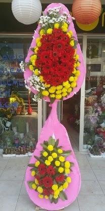 Çift katlı düğün nikah açılış çiçek modeli  Düzce çiçek mağazası , çiçekçi adresleri