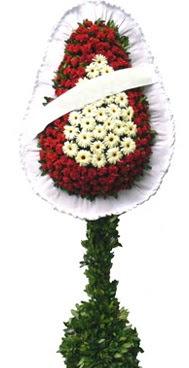 Çift katlı düğün nikah açılış çiçek modeli  Düzce çiçekçiler