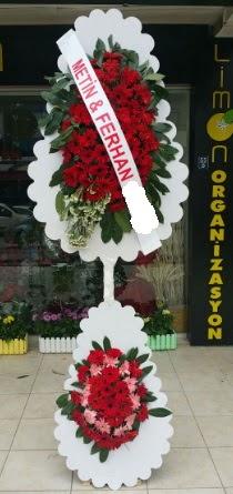 Çift katlı düğün nikah çiçeği modeli  Düzce çiçek online çiçek siparişi