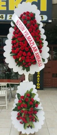 Çift katlı düğün nikah çiçeği modeli  Düzce anneler günü çiçek yolla