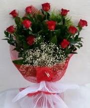 11 adet kırmızı gülden görsel çiçek  Düzce cicekciler , cicek siparisi