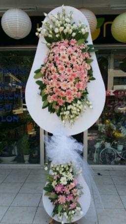 Çift katlı özel şahane sepet çiçeği  Düzce cicek , cicekci