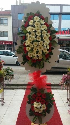 Çift katlı düğün açılış çiçeği  Düzce cicekciler , cicek siparisi