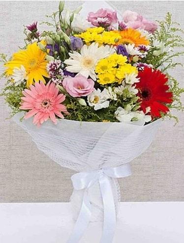 Karışık Mevsim Buketleri  Düzce 14 şubat sevgililer günü çiçek
