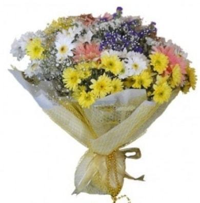 Karışık mevsim çiçeği  Düzce cicekciler , cicek siparisi