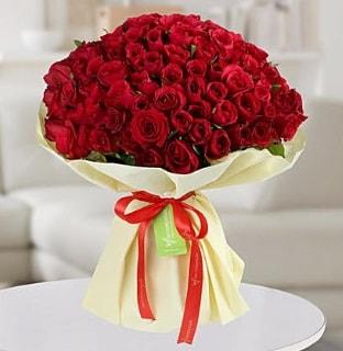 101 adet kırmızı gül buketi koca demet  Düzce kaliteli taze ve ucuz çiçekler