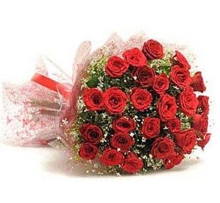 27 Adet kırmızı gül buketi  Düzce 14 şubat sevgililer günü çiçek
