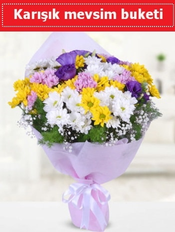 Karışık Kır Çiçeği Buketi  Düzce hediye çiçek yolla