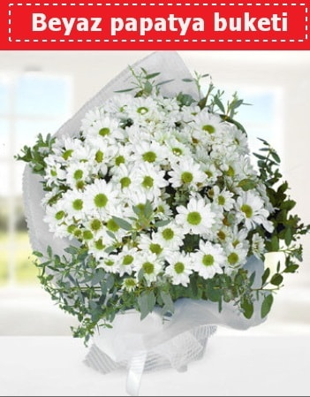 Beyaz Papatya Buketi  Düzce çiçek gönderme sitemiz güvenlidir